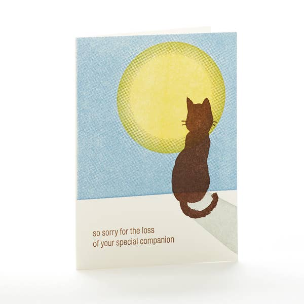 Cat Sympathy Notecard