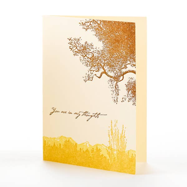 Trees You Are in My Thoughts Notecard