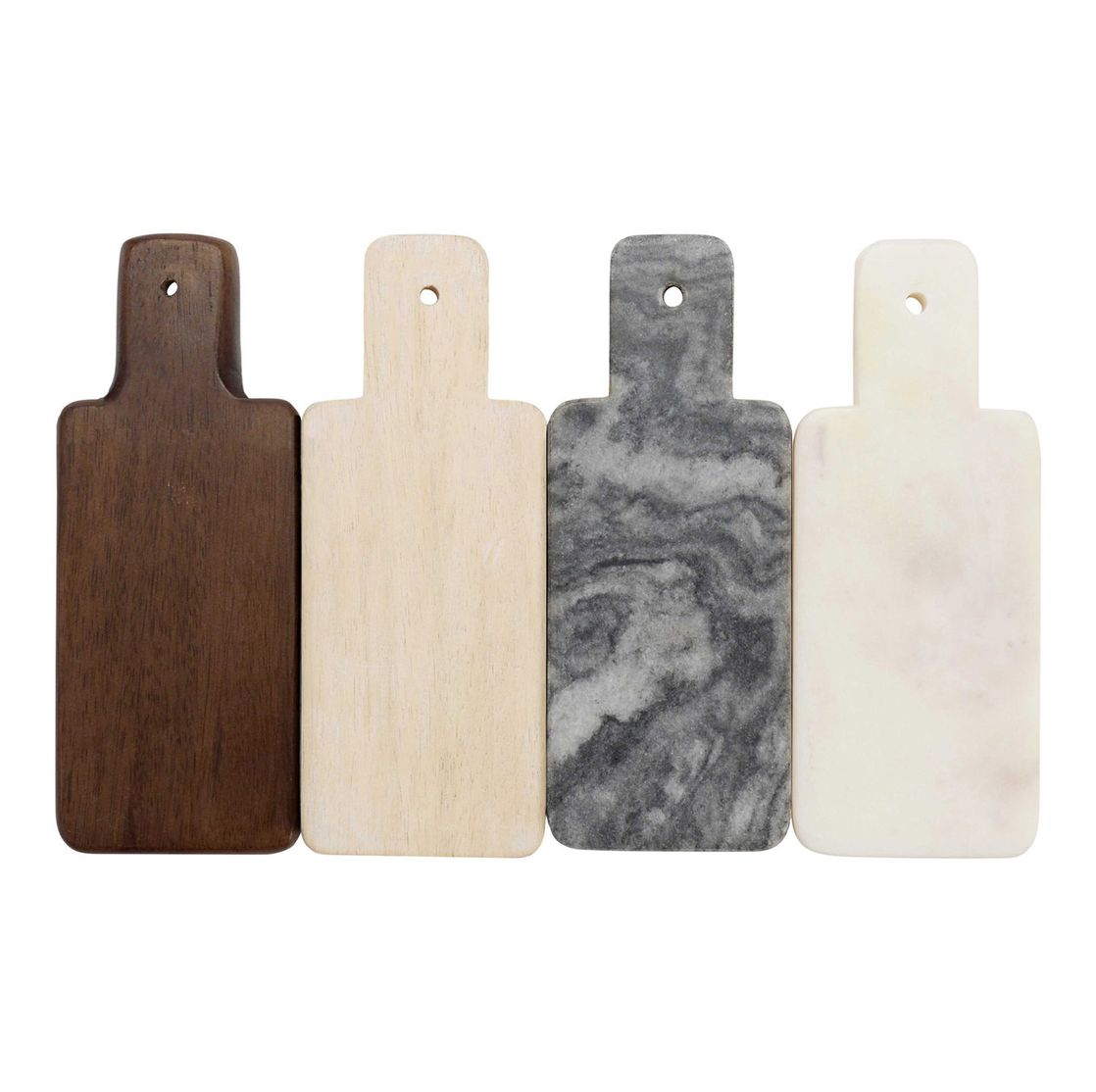 Marble and Wood Mini Boards S/4