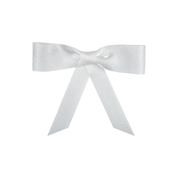 "1"" Sparkle Organdy Ribbon - White"