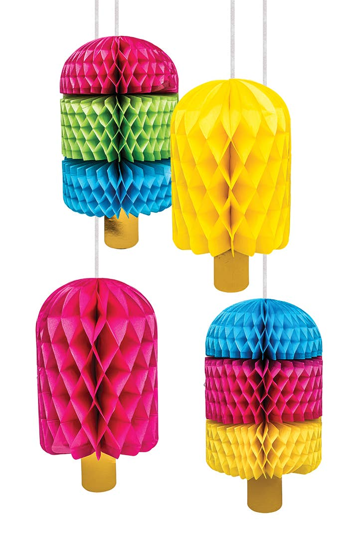 Honeycomb Set - Ice Pops