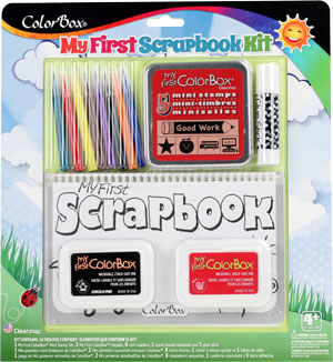 My First Scrapbook Kit - School