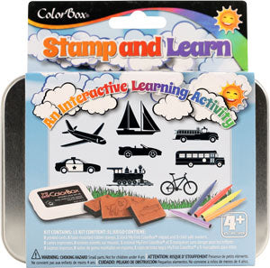 ColorBox Stamp and Learn Kits - Going Places