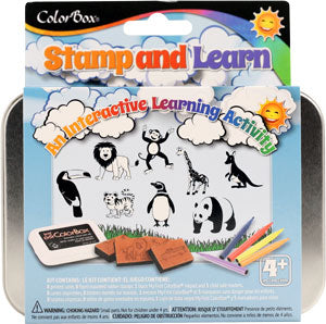 ColorBox Stamp and Learn Kits - Into The Wild