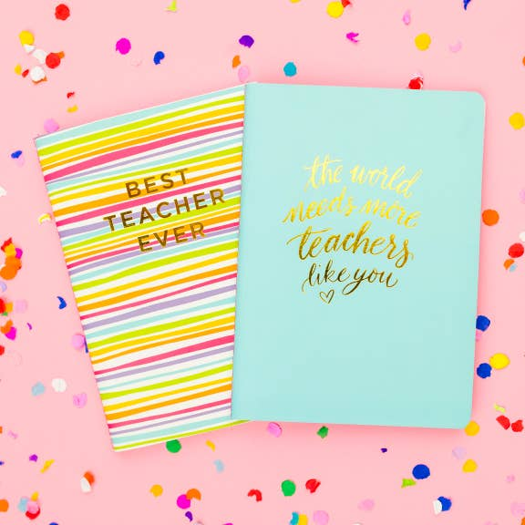 Best Teacher Ever Notebook Set