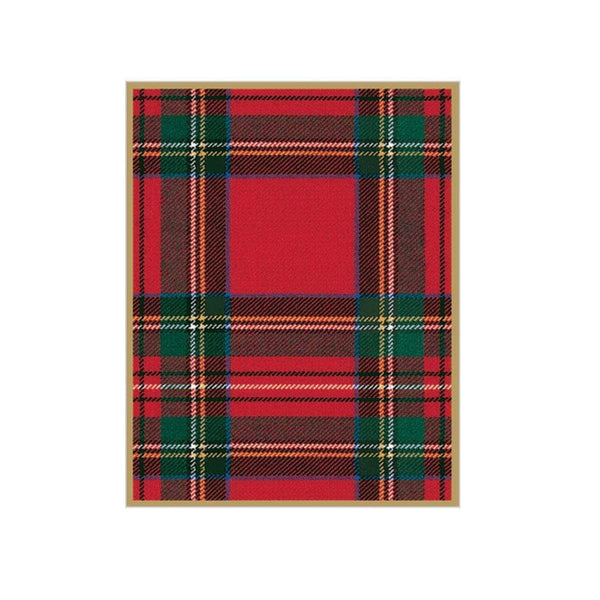 Royal Plaid Gift Bag - Large