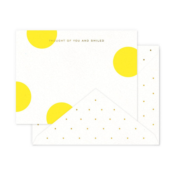 Smiled Boxed Notes - S/6