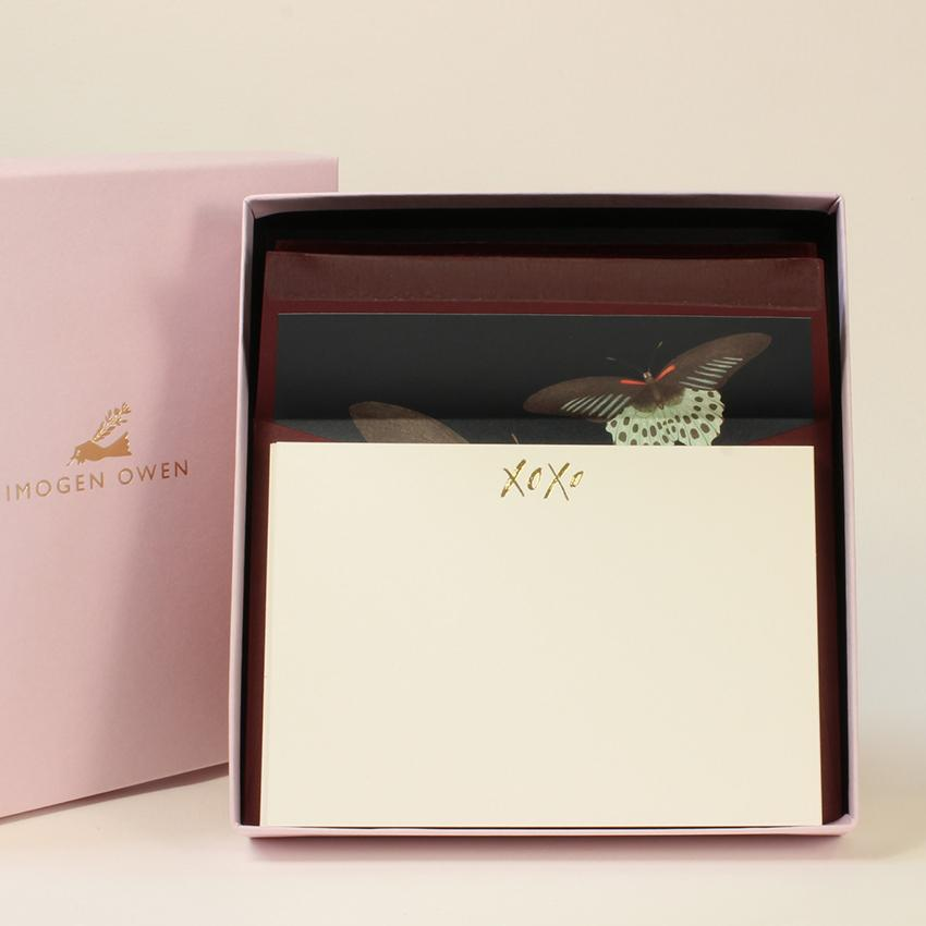 Luxury Writing Set - Butterfly
