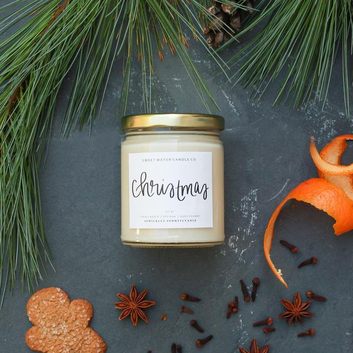 Christmas Soy Candle - 9oz