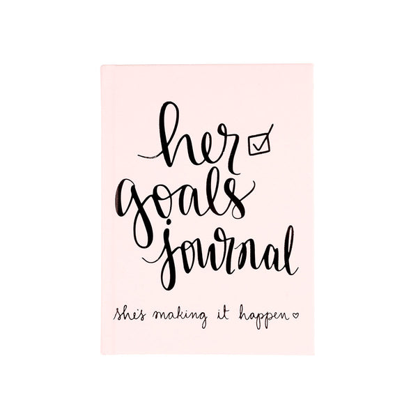 Guided Journal Her Goals 5x7