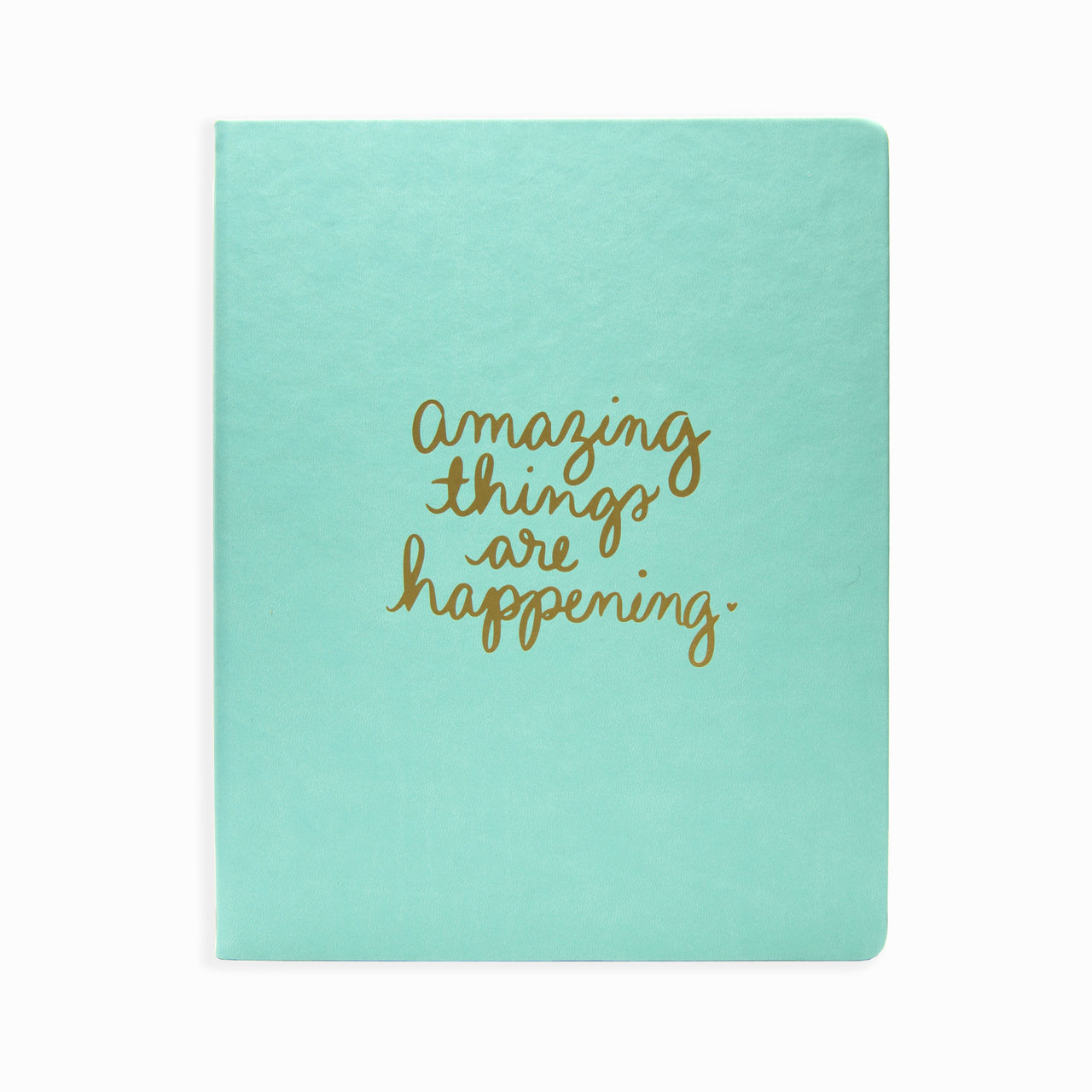 Journal Mint Amazing Things 8 x 10
