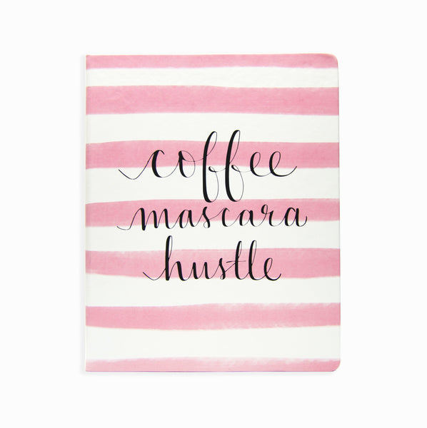 Journal Coffee Mascara Hustle 8 x 10