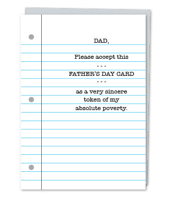 Dad. please accept this Father's Day card
