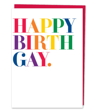 Happy Birth Gay