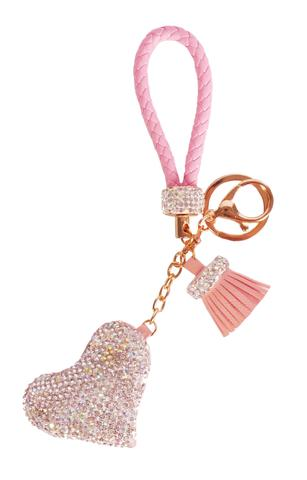 Diamond Charm Heart