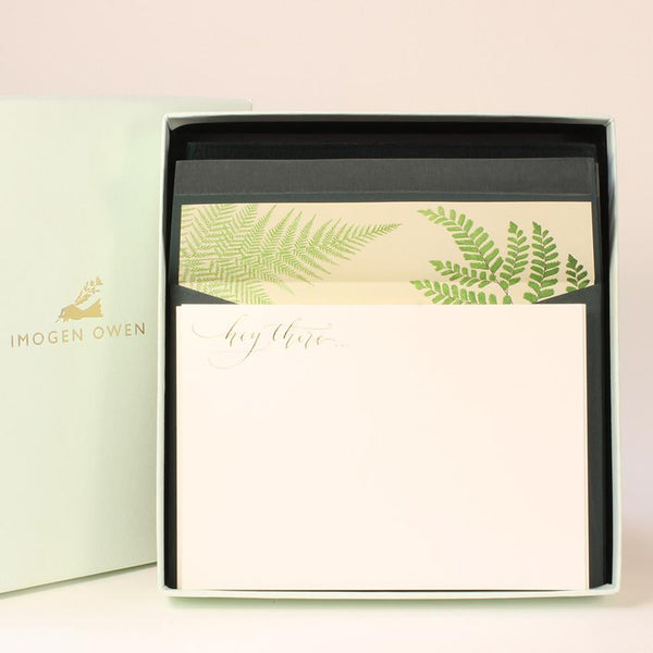 Luxury Writing Kit-Fern
