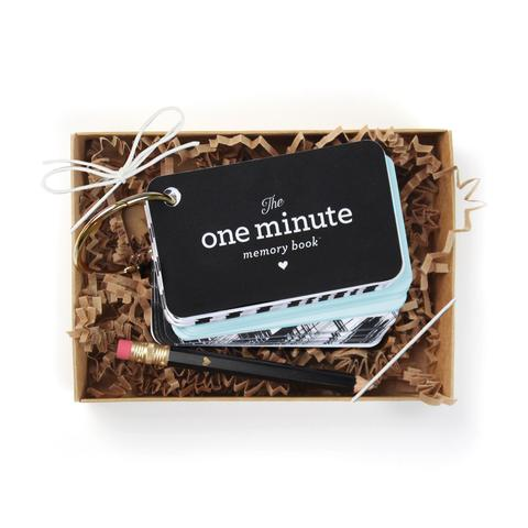 One Minute Memory Book:Starter Ring in Baby Blue