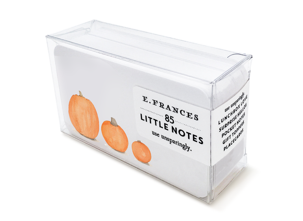 Pumpkin Patch Little Notes