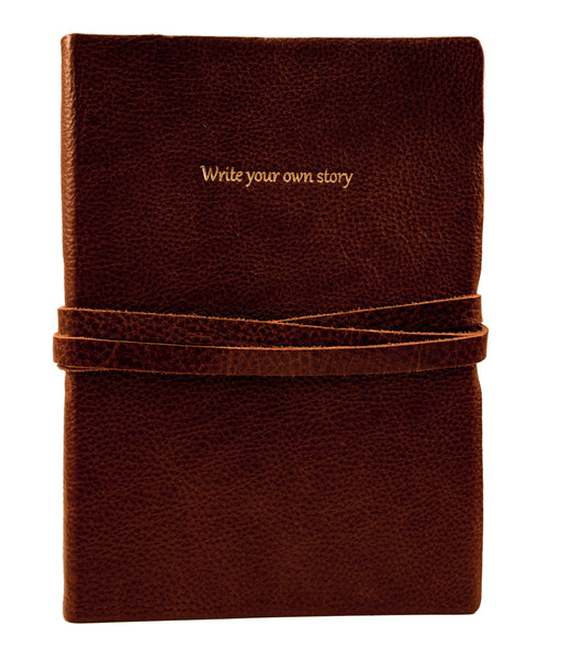 Leather Journal Write Your Own Story 6x8""