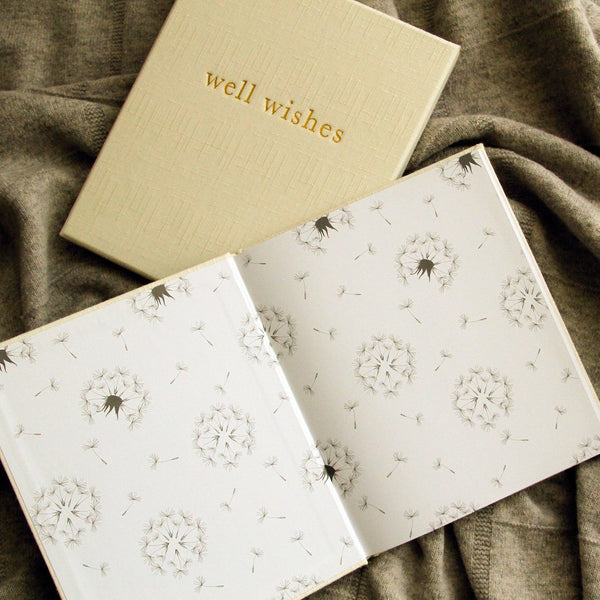 Well Wishes - Guest Book (White)