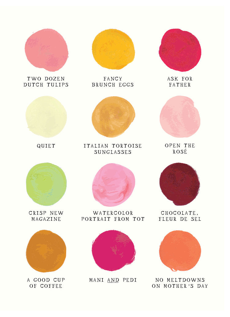 Mother's Day Palette