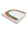 Rainbow Notepad 6x6