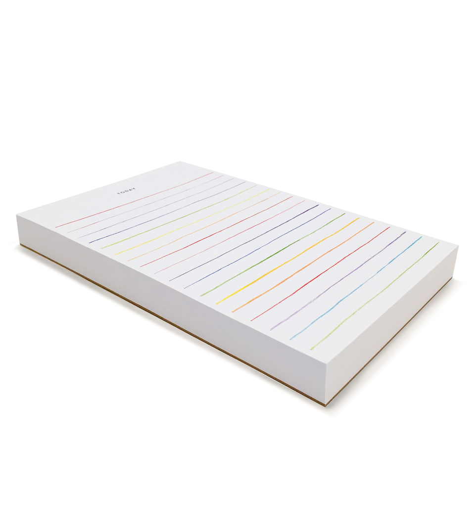 Multi Stripes Notepad 8.5x5.5