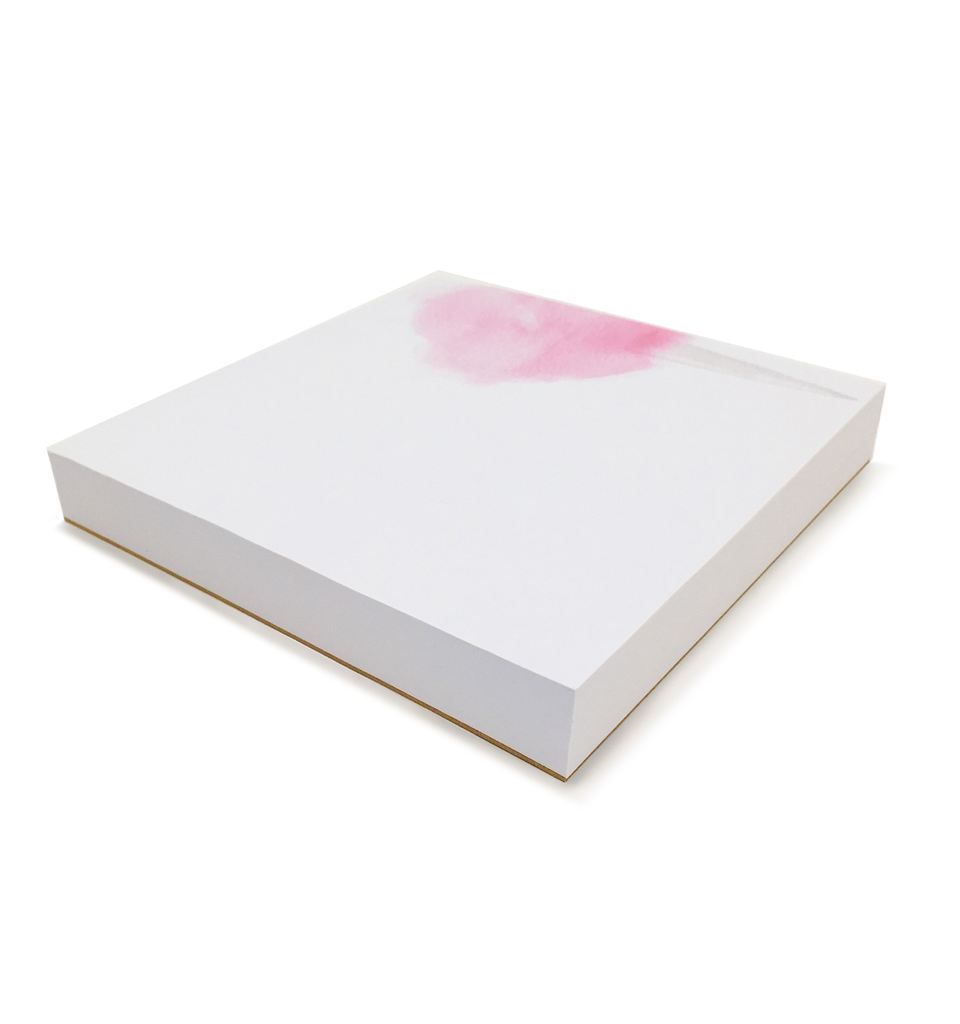Cotton Candy Notepad 6x6