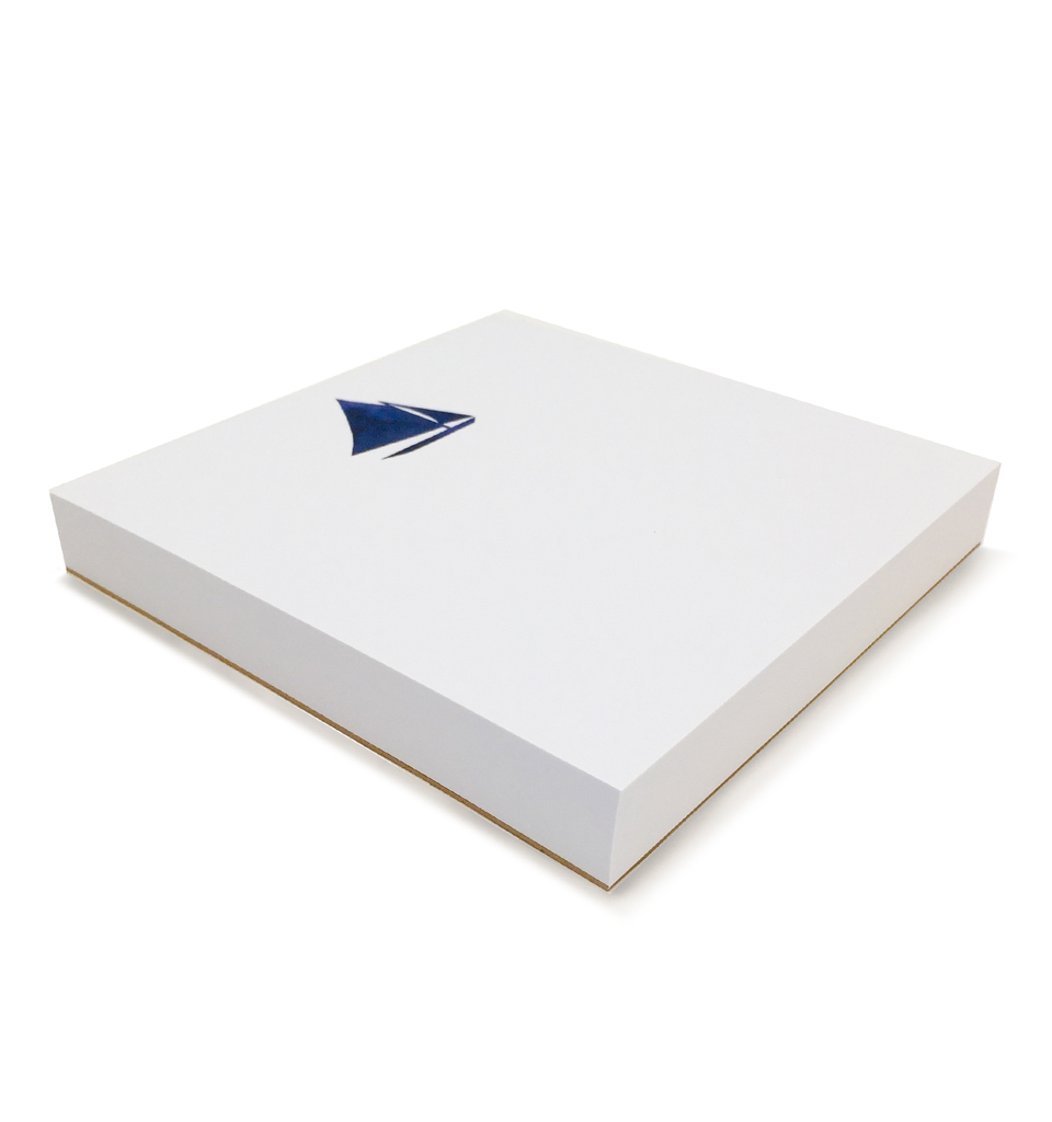 Sailboat Notepad 6x6
