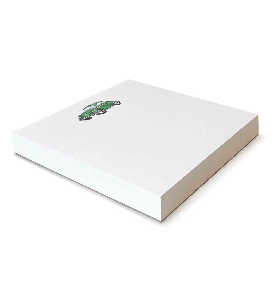 Punchbuggy Green Notepad 6x6
