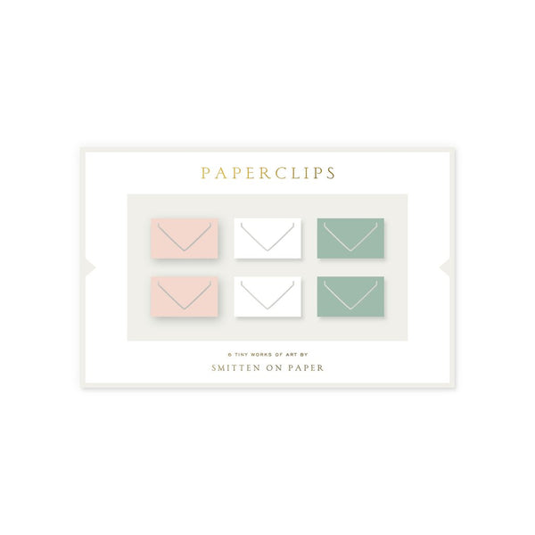 Small Envelope Paperclips S/6