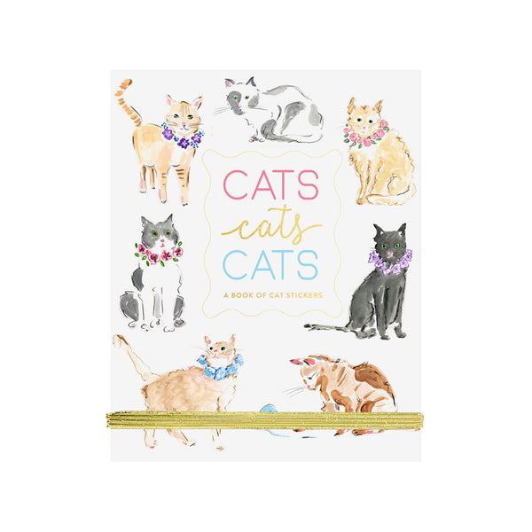 Fun Sticker Book Cats