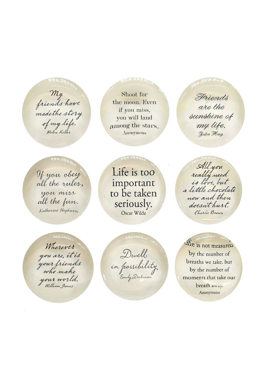Script Quotes, Set/9 Magnets