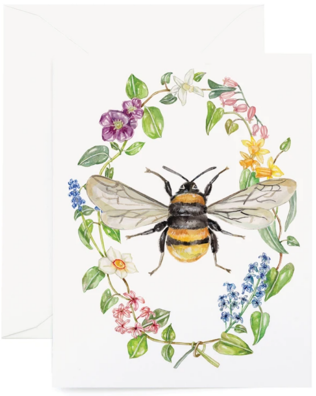 Botanic Bee Card
