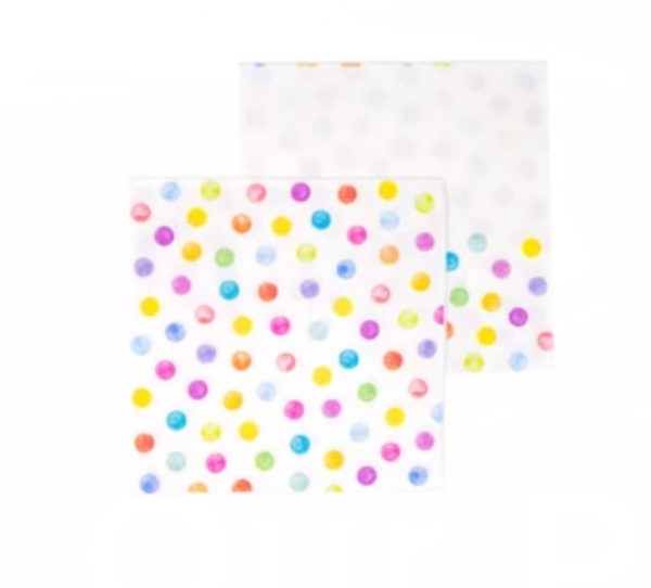 Lots of Dots Paper Dessert Napkins