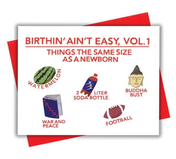 Birthin' Vol 1 Card