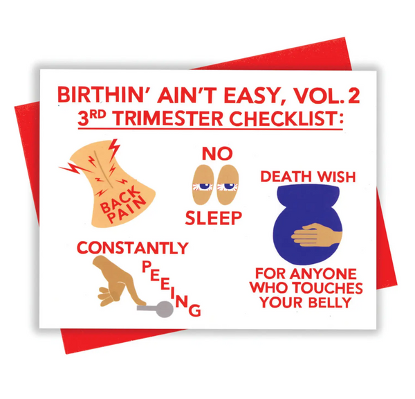 Birthin' Vol 2 Card
