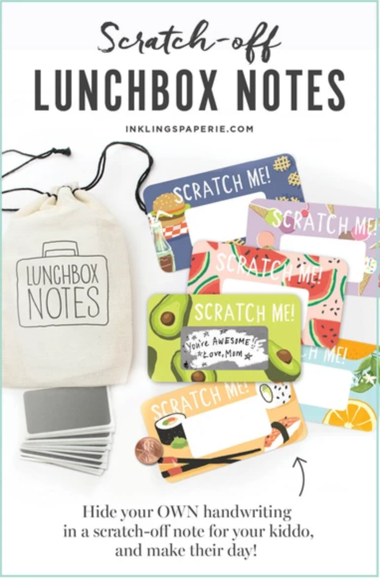Scratch-off Lunchbox Notes - Ed. 5
