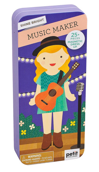 Shine Bright: Music Maker Magnetic Dress Up