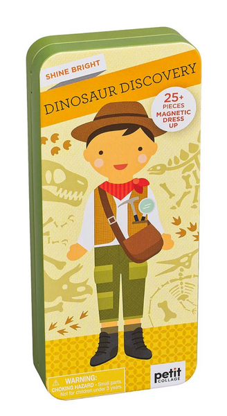 Shine Bright: Dino Discovery Magnetic Dress Up
