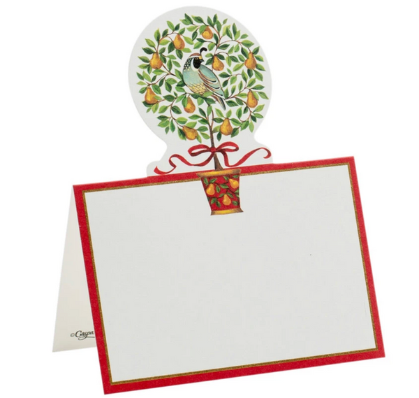 On the 12th Day Die-Cut Place Cards- 8 Per Package