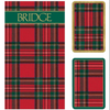 Plaid Bridge Gift Set