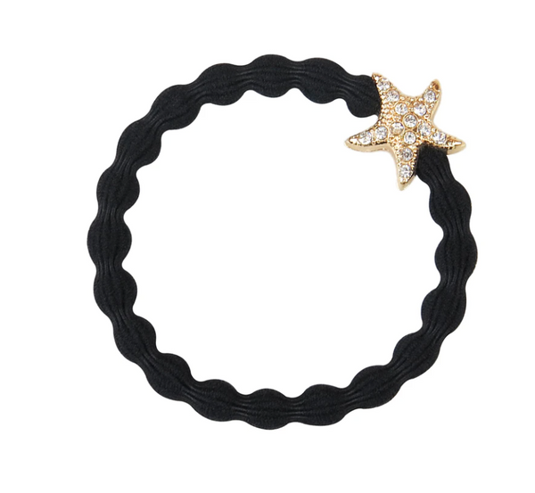 Starfish Black Hair Bands Collection