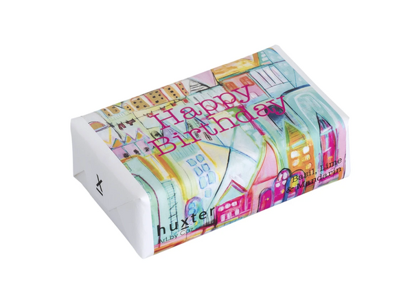 Huxter Soap Collection - My Place to be - Happy Birthday