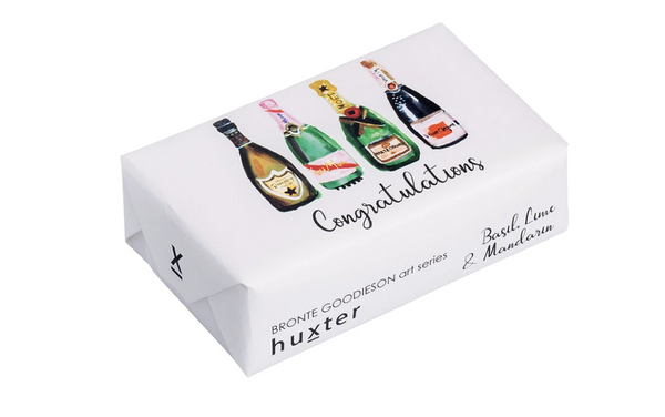 Huxter Soap Collection - Champagne Bottles, Congratulations