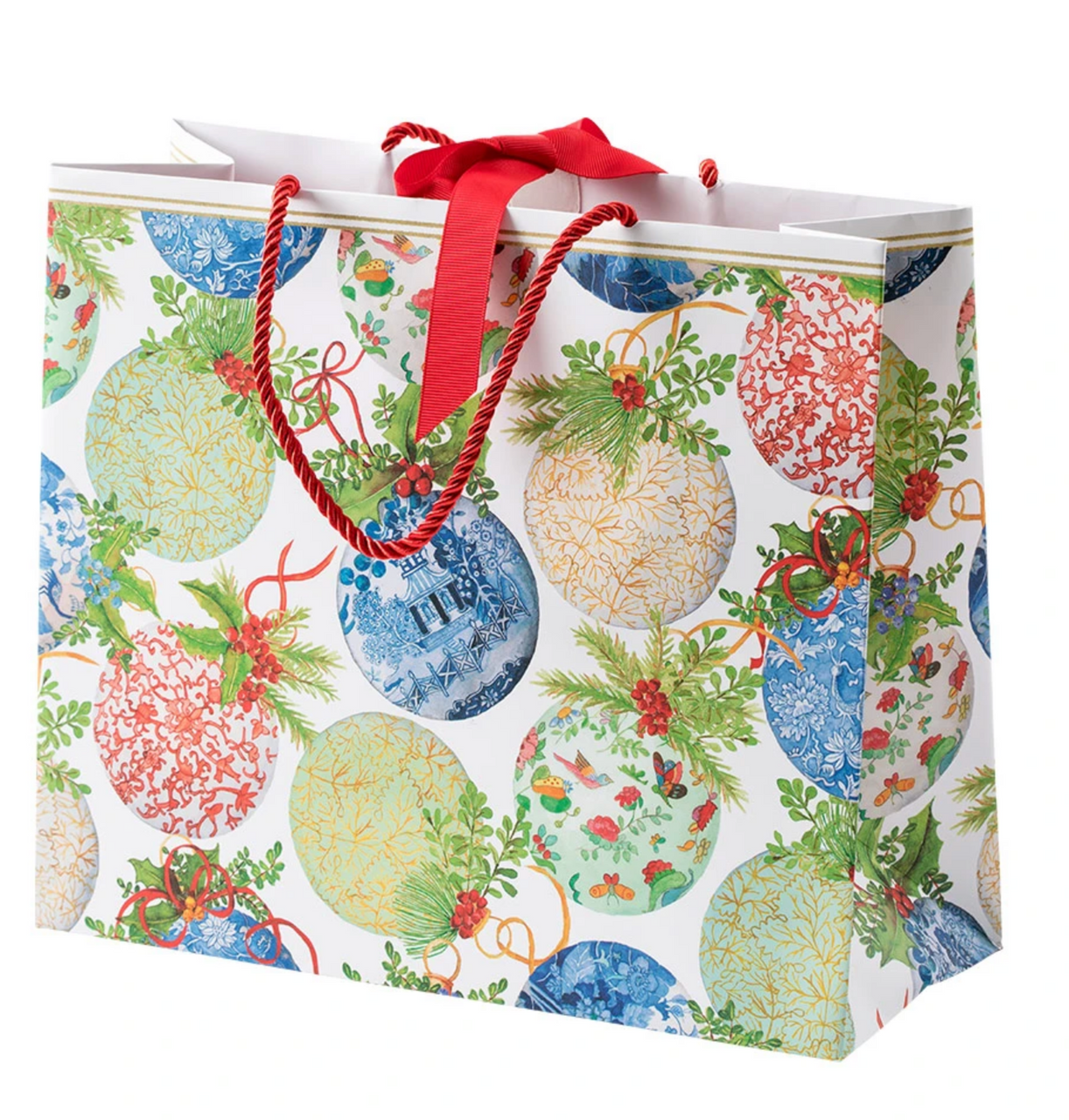 Porcelain Ornament Large Gift Bag