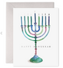 Colorful Menorah- S/6