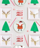Holiday Santa Plate-S/12