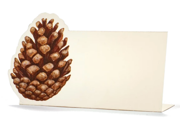 Pinecone Place-Card - Pack of 12