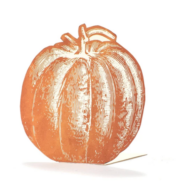 Pumpkin Place-Card - Pack of 12